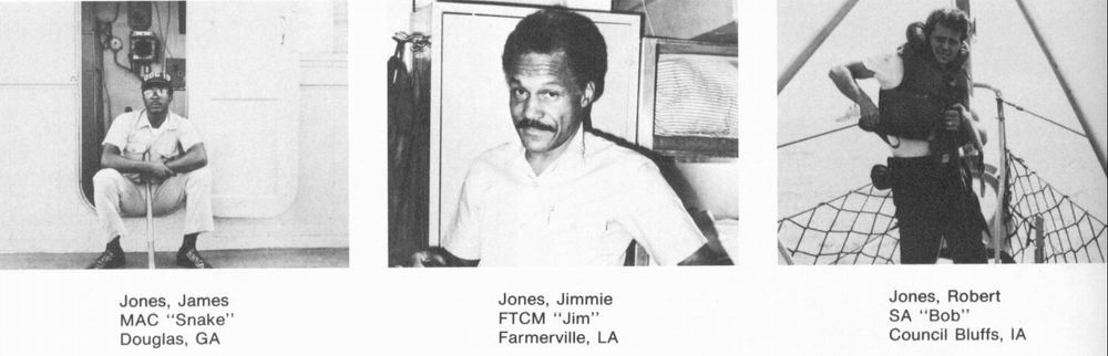 MAC James Jones. FTCM Jimmie Jones & SA Robert Jones